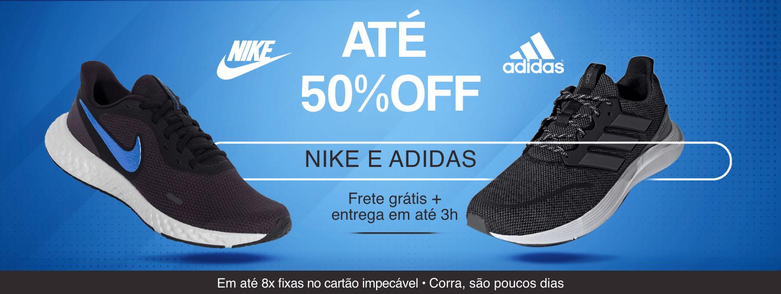 Promoção Nike Adidas