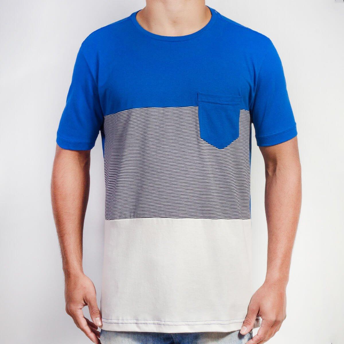 Azul/Preto/Off White