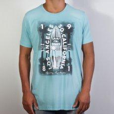 Camiseta Estampa Prancha e Coqueiros