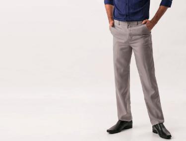 Calças de Tecido Masculinas